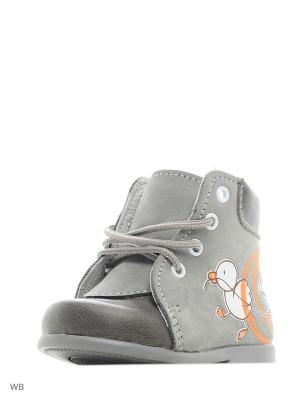 Ботинки Детский скороход. Цвет: серый