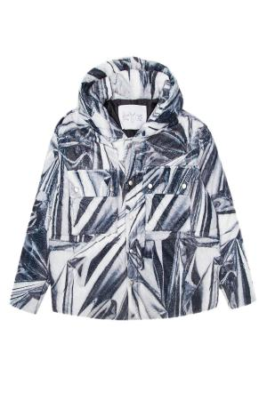Куртка KYE. Цвет: серый
