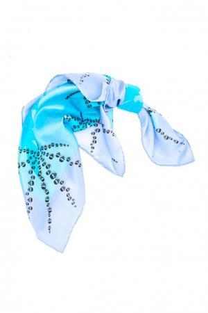 Платок  Жук 1---голубой Bino Tiani