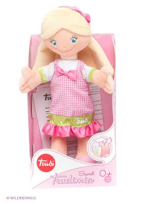 Мягкая кукла TRUDI. Цвет: розовый, желтый, белый, зеленый, бежевый