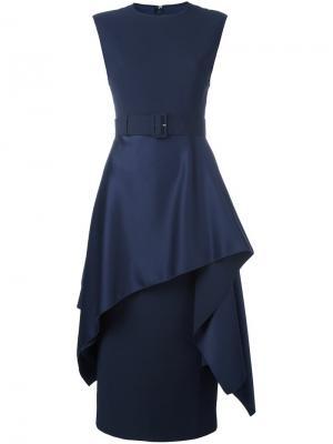 Платье Poppy Solace. Цвет: синий