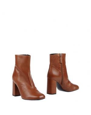 Полусапоги и высокие ботинки GIANNA MELIANI. Цвет: коричневый