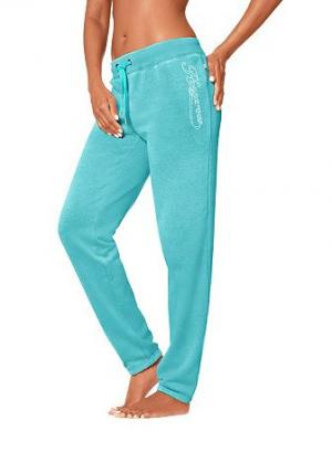 Спортивные брюки KANGAROOS®. Цвет: бирюзовый