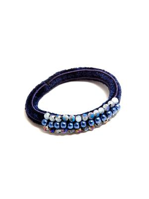 Резинка Kameo-bis. Цвет: синий, серый