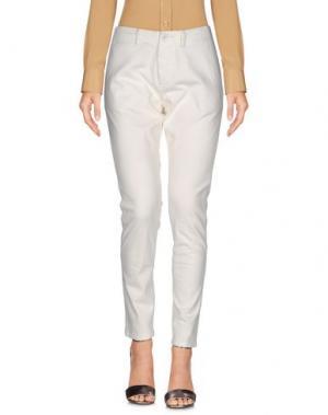 Повседневные брюки NLST. Цвет: белый