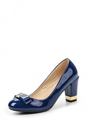 Туфли Guapissima. Цвет: синий