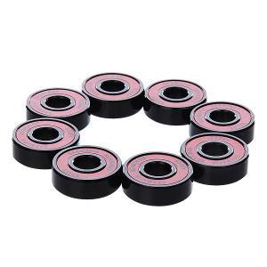 Подшипники для скейтборда  Abec 5 Bearings Red Sk8mafia. Цвет: красный,черный