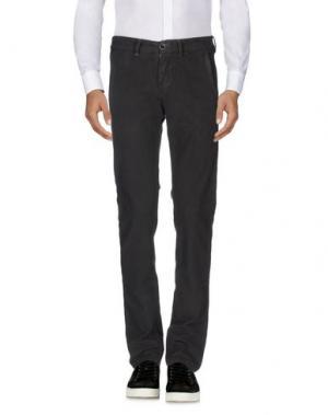 Повседневные брюки RE-HASH. Цвет: стальной серый