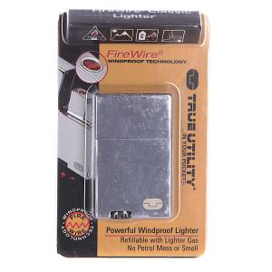 Зажигалка  Firewire Classic Lighter Tu60 Grey True Utility. Цвет: серый