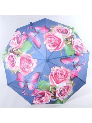 Зонт Magic Rain. Цвет: серо-голубой, зеленый, фуксия