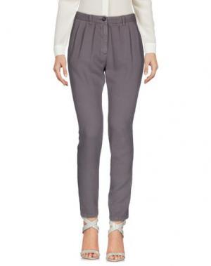 Повседневные брюки ATTIC AND BARN. Цвет: свинцово-серый