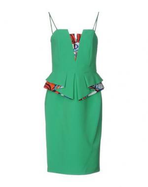 Короткое платье HANITA. Цвет: зеленый