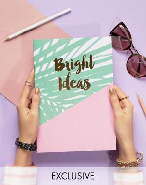 OHH DEER Блокнот Bright Ideas A4. Цвет: мульти