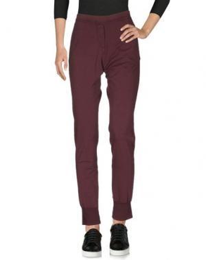Повседневные брюки ..,MERCI. Цвет: красно-коричневый