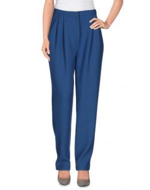 Повседневные брюки BARBARA CASASOLA. Цвет: пастельно-синий