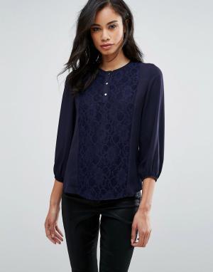 Hedonia Рубашка. Цвет: темно-синий
