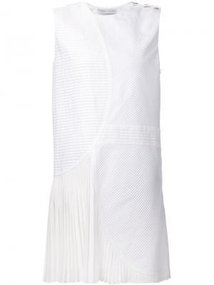 Платье-шифт Gauchère Le Bon Marche X The Webster. Цвет: белый