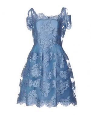 Платье до колена CAILAN'D. Цвет: небесно-голубой