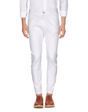 Повседневные брюки SSEINSE. Цвет: белый