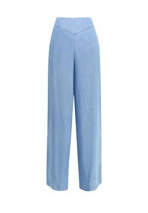 Брюки Armani Jeans. Цвет: голубой
