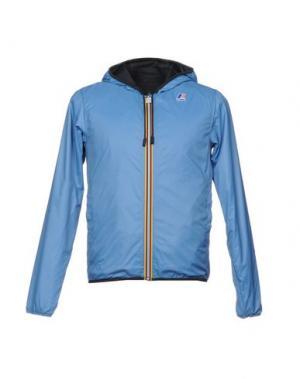 Куртка K-WAY. Цвет: небесно-голубой