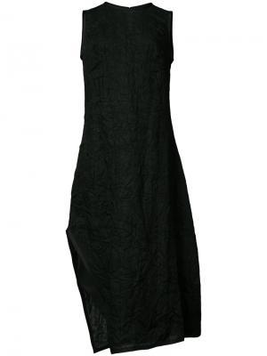 Crinkle effect dress Narciso Rodriguez. Цвет: чёрный
