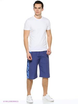 Бриджи A-sport. Цвет: серо-голубой