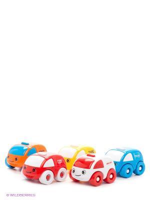 Мини-машинка, 5 шт. DOLU. Цвет: голубой, красный