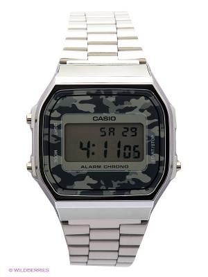 Часы Casio A-168WEC-1E. Цвет: серебристый