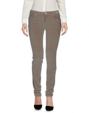 Повседневные брюки ROSSOPURO. Цвет: серый