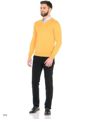 Пуловер InMyHood. Цвет: желтый, оранжевый
