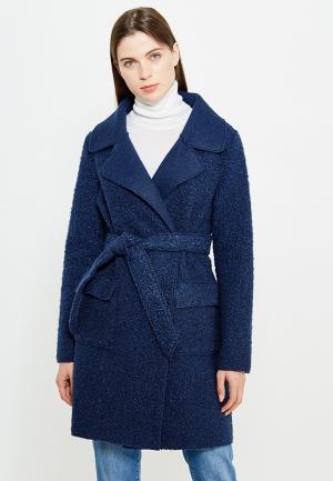 Пальто Liu Jo Jeans. Цвет: синий