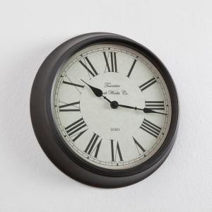 Настенные часы Zivos La Redoute Interieurs. Цвет: красно-коричневый