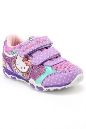 Полуботинки Hello Kitty. Цвет: фиолетовый