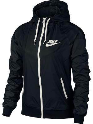 Куртка W NSW WR JKT OG Nike. Цвет: черный