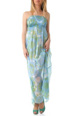 Платье Sexy Woman. Цвет: light blue