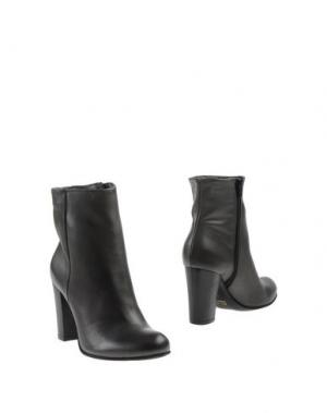 Полусапоги и высокие ботинки SCOOP. Цвет: стальной серый