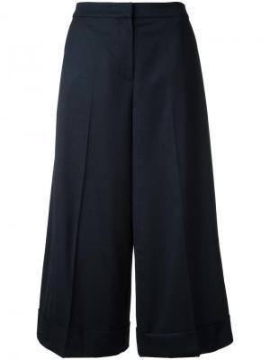 Укороченные брюки Goen.J. Цвет: чёрный