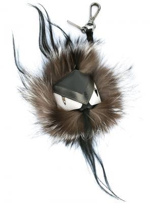 Брелок Bag Bugs Fendi. Цвет: серый