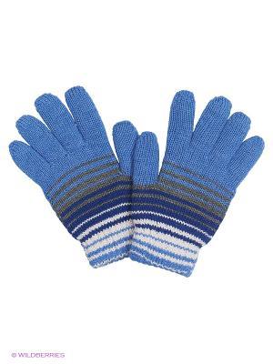 Перчатки R&I. Цвет: синий