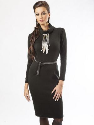 Платье Dea Fiori. Цвет: черный