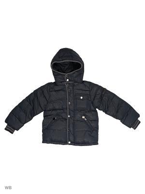 Куртка Cherche. Цвет: темно-синий
