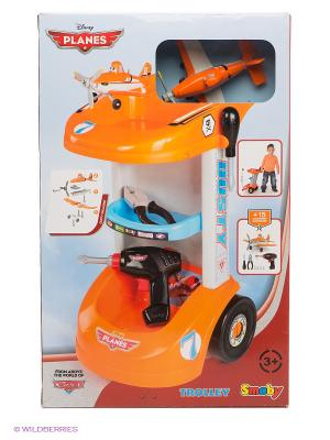 Тележка с инструментами Самолеты Smoby. Цвет: оранжевый