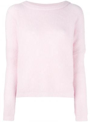 Джемпер Claudetta By Malene Birger. Цвет: розовый и фиолетовый