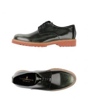 Обувь на шнурках BORGO MEDICEO. Цвет: зеленый