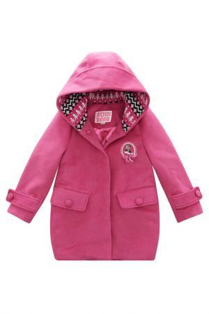 Пальто Bodi Bear. Цвет: красный