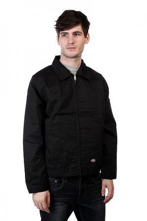 Куртка  Unlined Eisenhower Jacket Black Dickies. Цвет: черный