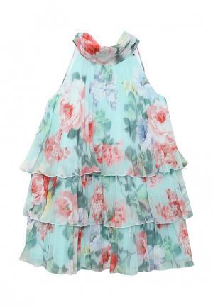 Платье Gulliver. Цвет: бирюзовый