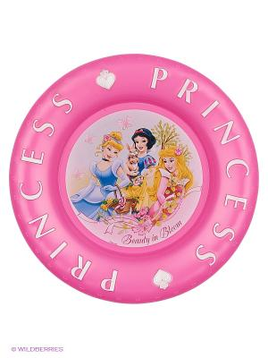 Тарелка рельефная Принцессы Stor. Цвет: розовый, желтый, голубой