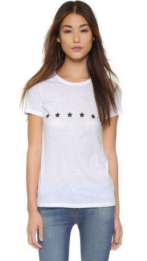 Классическая футболка Stars South Parade. Цвет: белый
